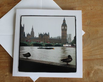 Big Ben - Greeting Card