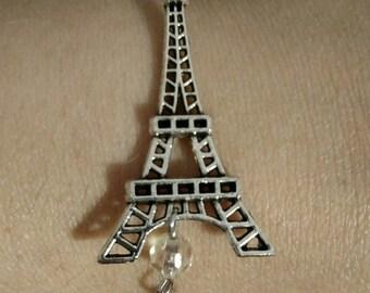 Beaded Eiffel Tower bracelet
