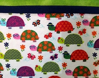 Turtleriffic Flannel Pillowcases