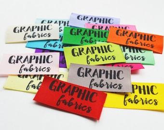 """7/8"""" Logo Color Labels"""