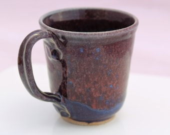 Tea Cup, Purple and Blue Mug, Coffee Mug.