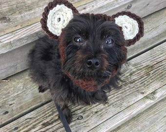 Bear Cowl for Dogs