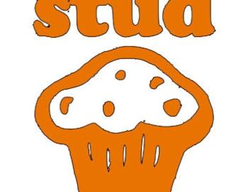 Stud Muffin Vinyl Decal
