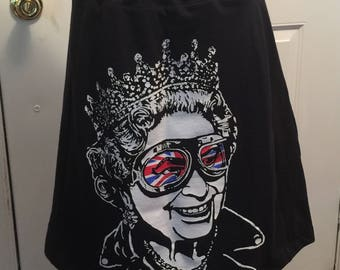 Queen Elizabeth and Kitty Band