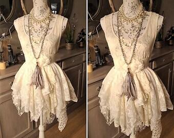 Shabby Style shabby chic dress etsy
