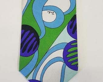Emilio Pucci Tie's . Vintage - Seventys -