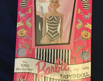 Peck Aubry 1959 Number One Barbie Paper Doll