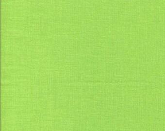 Tissu coton uni couleur vert clair
