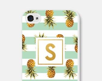 Monogram iPhone 5s Case Gold iPhone 6 Case Pineapple iPhone Case iPhone 6s Plus Case Monogram iPhone 6 Plus Case Gold iPhone 5c Case Mint