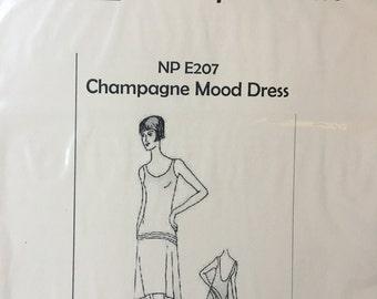 Champagne Mood Dress - 1920s flapper dress pattern