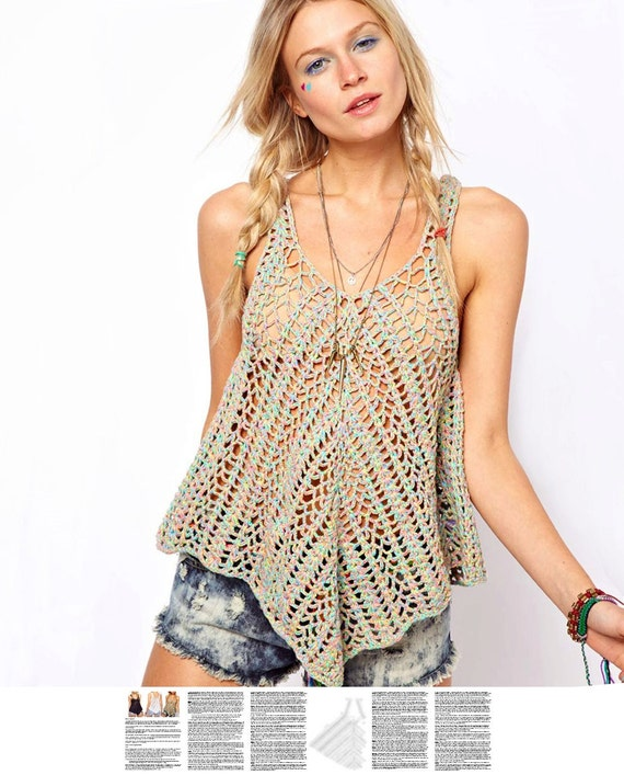 Maize Hutton: Little Crocheted Top |Thread Crochet Top