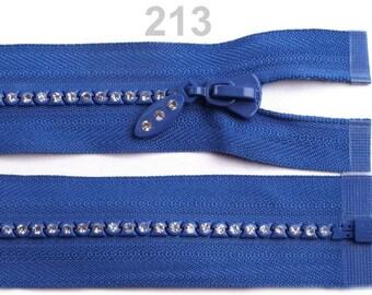closure has detachable rhinestone blue 50 cm