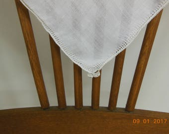Napkins Set of 3 vintage antique linens