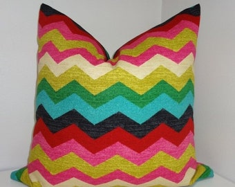 SIZZLING SUMMER SALE Waverly Panama Wave Desert Flower Pillow Cover Decorative Pillow Throw Pillow 16x16