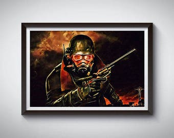 Video Game Poster, Art Print, Video Game Wall Decor 4