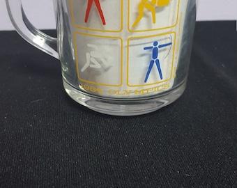 1984 Olympics Glass Mug