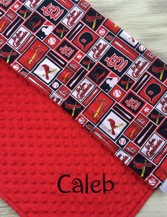 Last minute gifts st louis cardinals personalized baby last minute gifts st louis cardinals personalized baby blanket baby blanket minky baby blanket cardinals blanket baseball negle Gallery
