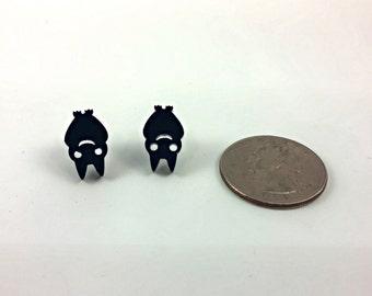 Halloween Baby Bat Earrings