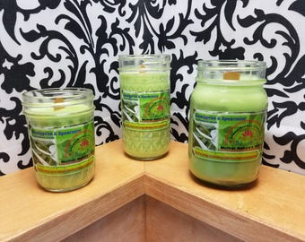 Eucalyptus & Spearmint - 100% soy wood wick candles