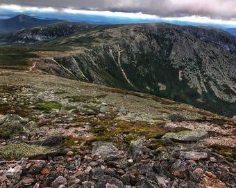 Table Lands - Mount Katahdin, Hamlin Ridge, Baxter State Park, Maine - Photography