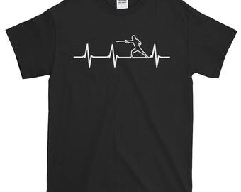 Endless Fencing Love Fencing Heartbeat Amusing Heartbeat Fencing Sword Fencing Mom Fencing Print Fencing Gifts Unique Fencing