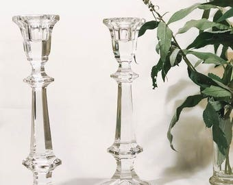 Crystal Vintage Candleholders