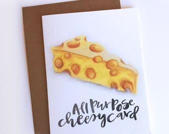 All Purpose Cheesy Card