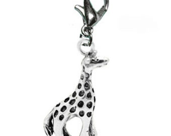 BULK Giraffe #2 Charms - Clip-On - Ready to Wear - Package of 10 charms