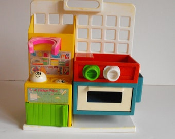 CLEARANCE - Fisher Price Mini Kitchen Play Set    (603)