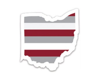 Ohio Sports Collection Stickers