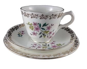 Royal Grafton 'Floral Spring' Tea Cup Trio