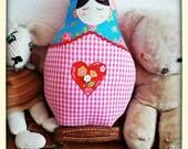 Russian doll cushion...