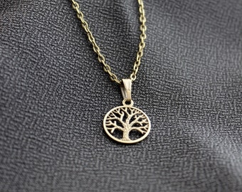 Once Upon a time Regina Apple Tree  Necklace bronze handmade