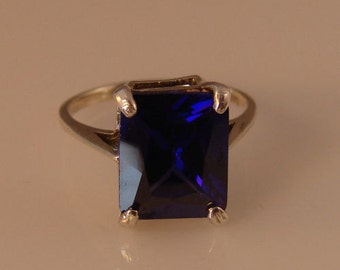 Purple Amethyst Ring Set in Sterling Silver. What if you can have this...Well, you can