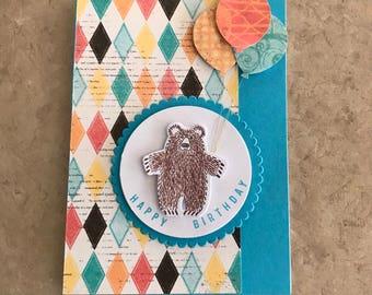 Handmade Happy Birthday Card