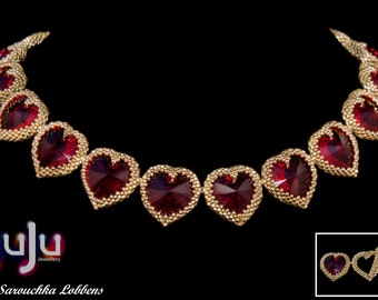 """Tutorial for Necklace """"My Hearts Desire"""""""