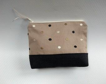 Spotty Make Up Bag, Cosmetics, Toiletry