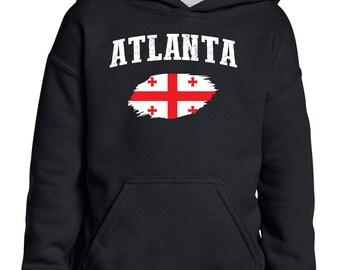 Atlanta Georgia Youth Hoodie Hooded Sweatshirt