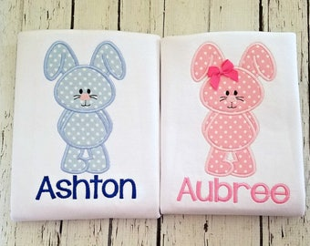 LONG SLEEVE Sibling Easter Shirts, Twin Easter Shirts, Easter Shirts for Girls, Easter Shirt For Boys, Sibling Shirt Set, Easter Outfits
