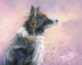 Border Collie - Giclee Archival Print