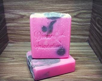 Pretty In Pink Cocoa Butter & Cream Artisan Soap