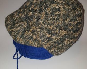 Camo brim winter hat