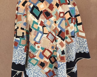 Piramit Saf ipek - Turkey silk scarf, shawl, or table top