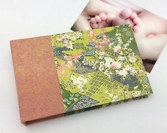 Mini Photo Album with Sleeves for 4x6 photos Garden Theme / In Stock