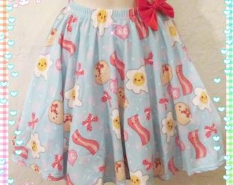 Good Morning Skirt, Egg Skirt, Breakfast Skirt
