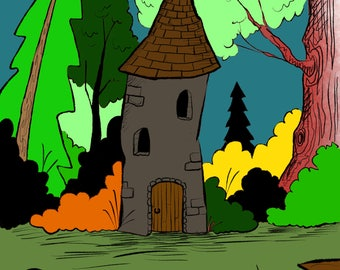 A Castle in the Woods