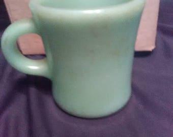 Frost King Ware Jadeite Mug