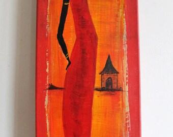 Travel - Painting 60 x 20 cm