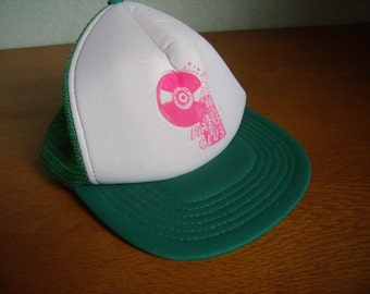 Cap advertisement french vintage, 1980s ' Fire's Club'