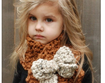 Crochet PATTERN-The Tyeleigh Scarf (Adult,Child, Toddler sizes)